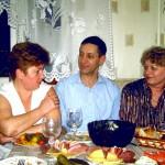Мирошкина Антонина(слева)