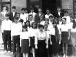 Выпуск 1992 - на крыльце родной школы